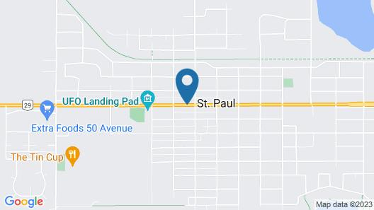 Galaxy Motel Map