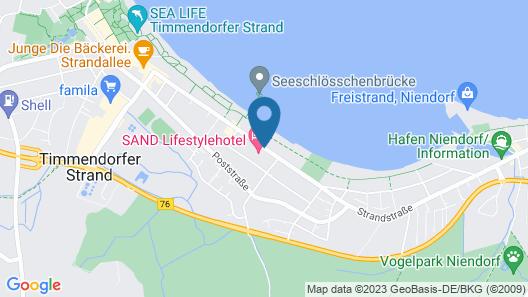 SAND Lifestylehotel Map