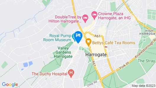 Crown Hotel Harrogate Map