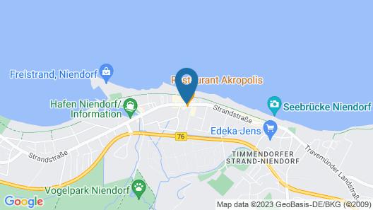 SeeHuus Hotel Map