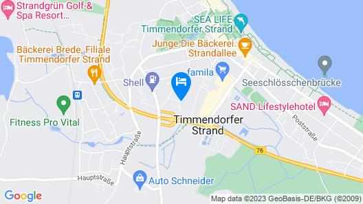 Seaside-Townhouse Map