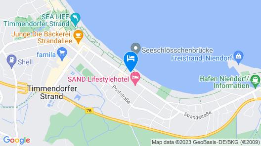 Appartment-Hotel Seeschlösschen Map