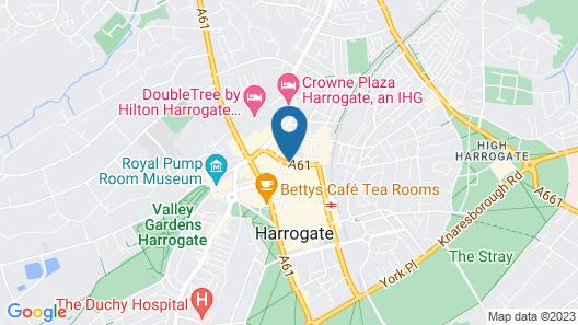 Inn at Cheltenham Parade Map