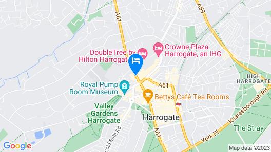 Hotel St George, Harrogate Map