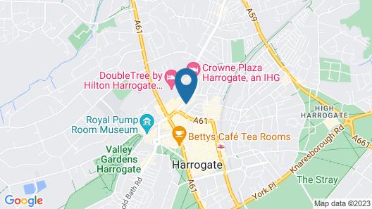 Harrogate Central Suites Map