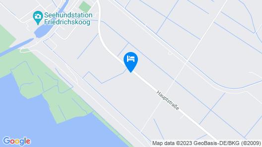 Landhaus Nordsee-Peerhuus Map