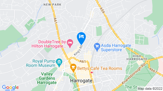 Crowne Plaza Harrogate Map