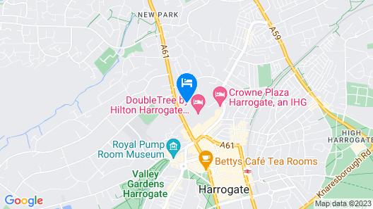 DoubleTree by Hilton Harrogate Majestic Hotel & Spa Map