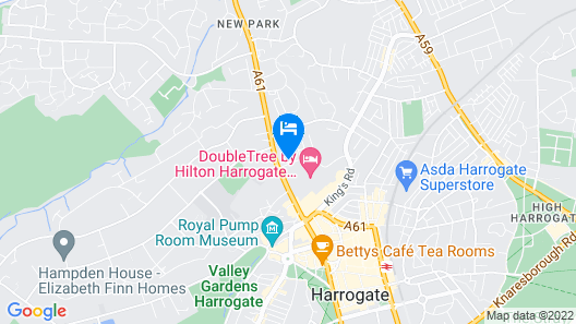 DoubleTree by Hilton Harrogate Majestic Hotel & Spa Map