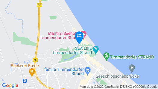 Park-Hotel Timmendorfer Strand Map