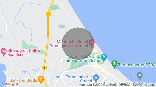 Beach and Citynahe Apartment Map