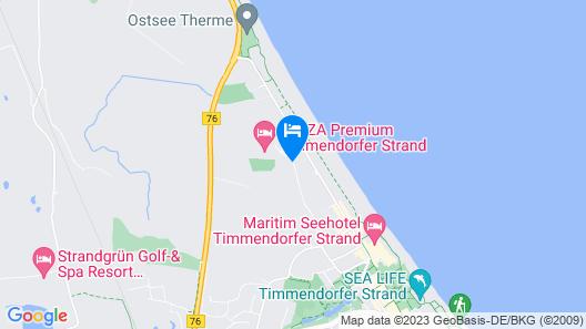 Maritim ClubHotel Timmendorfer Strand Map