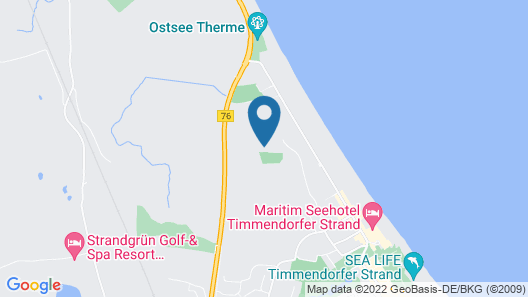 Private Residence Maritim Golf- / Clubhotel Map