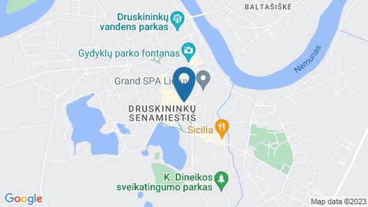 Pusynas Hotel & SPA Map