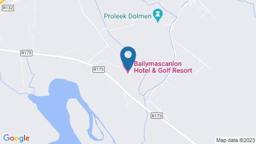 Ballymascanlon House Hotel Map