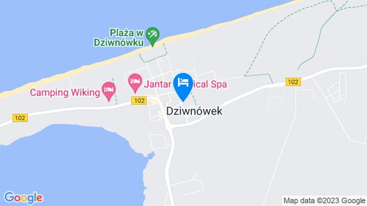 Apartament Sun Dziwnówek Map