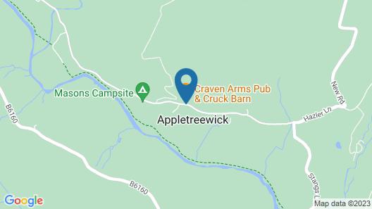 Craven Shepherd Huts Map