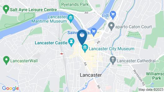 The Sun Hotel & Bar Map