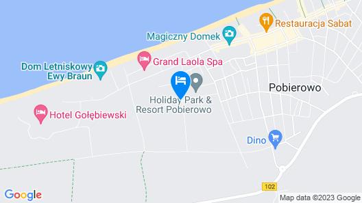 Baltic-Resort Pobierowo Map