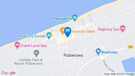Pod Winogronem - apartamenty z basenem Map