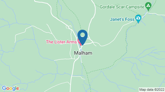 Lister Arms Map