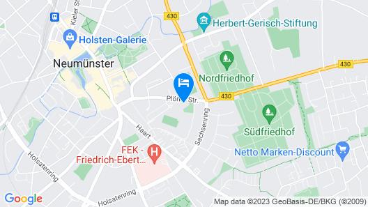Hildebrandts Das Grüne Stadthotel Map