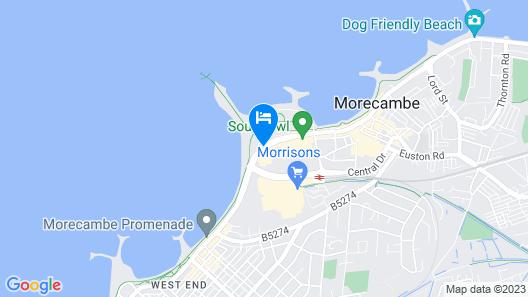 Midland Hotel Map