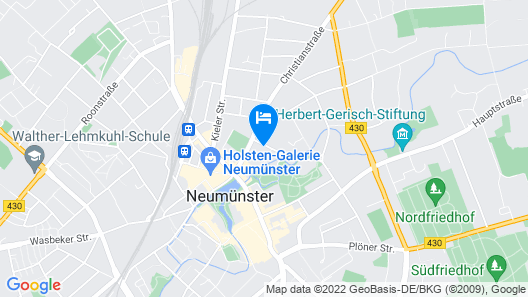 Neues Parkhotel Map