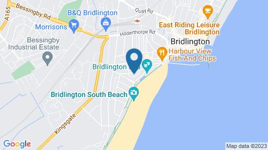 Spa Holiday Apartments Map