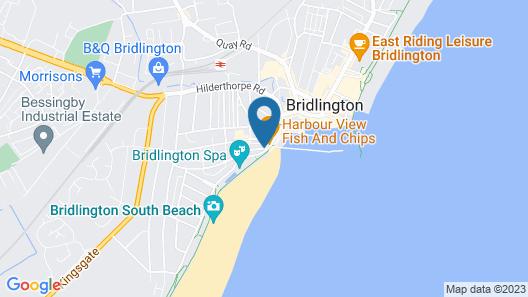 Rowntree Holiday Flats Map