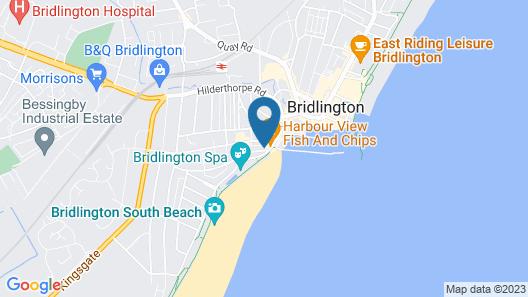 Pembroke Seafront B&B Map