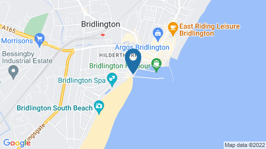 Rags Hotel Bar & Restaurant Map