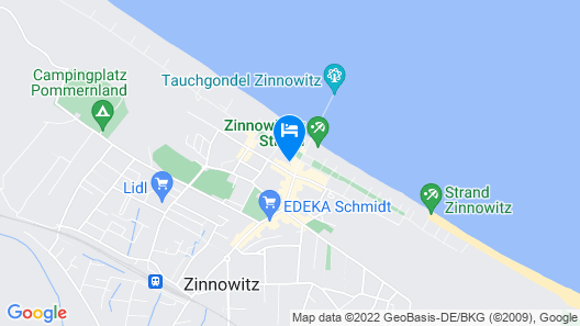 Strandhotel Preussenhof Map