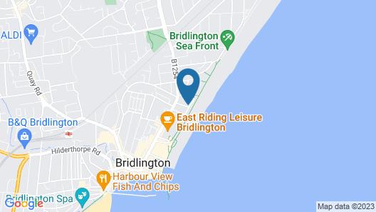 Oceana Holiday Apartments Map