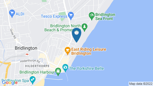 Beaconsfield Holiday Apartments Map