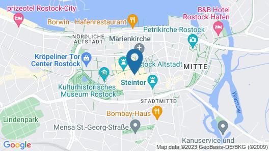 Hotel Garni Am Hopfenmarkt Map