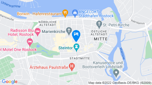 Vienna House Sonne Rostock Map