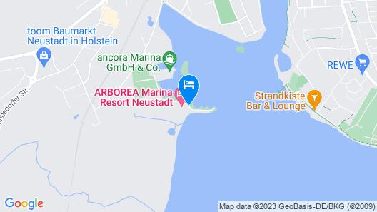 Arborea Marina Resort Neustadt Map