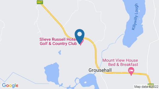 Slieve Russell Hotel Golf & Country Club Map
