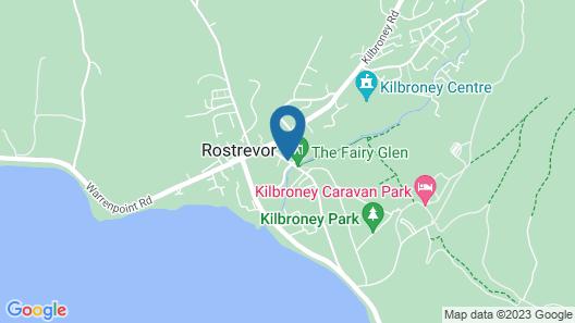 The Rostrevor Inn Map