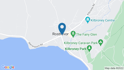 Hillside Holiday Home  Map