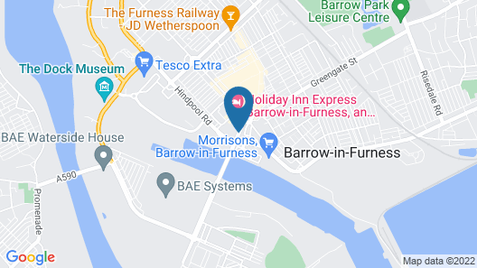 Waterview Deluxe Apartments Map