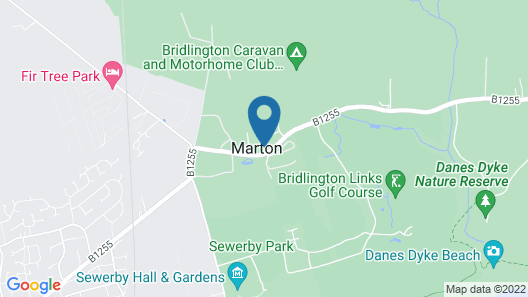 Marton Grange Country House Map