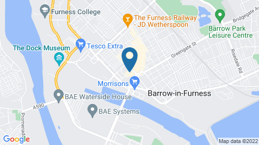 Holiday Inn Express Barrow-in-Furness Map