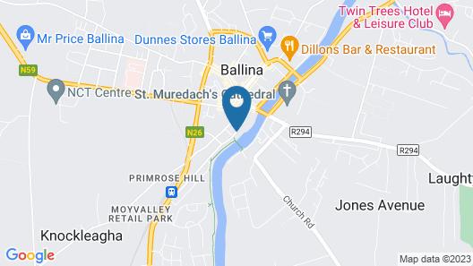 Ballina Manor Hotel Map