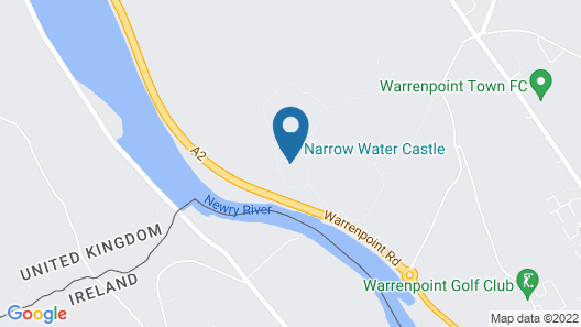 Narrow Water Castle Self Catering Accommodation Map