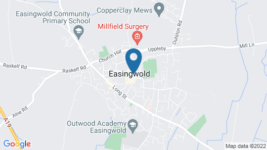 The George at Easingwold Map