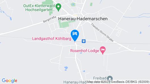 Landgasthof Köhlbarg Map