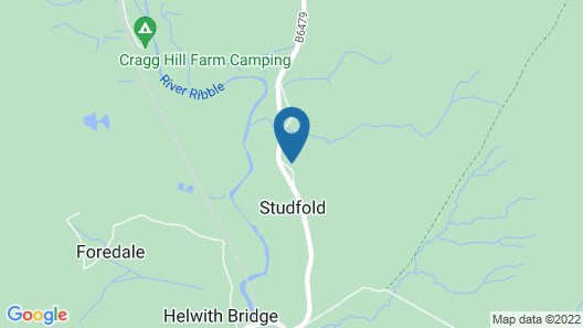 Middle Studfold Farm Bed and Breakfast Map