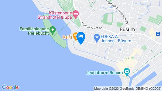 Haus Am Watt Map